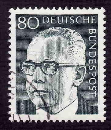 German Used Scott #1036 Catalog Value $.30