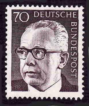 German MNH Scott #1035 Catalog Value $.80
