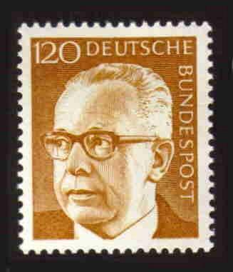 German Hinged Scott #1039 Catalog Value $1.70