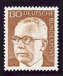 German Hinged Scott #1040 Catalog Value $1.70