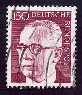 German Used Scott #1041 Catalog Value $.80