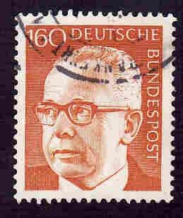 German Used Scott #1042 Catalog Value $1.10