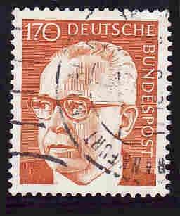 German Used Scott #1042A Catalog Value $.80