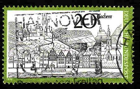 German Used Scott #1047 Catalog Value $.30