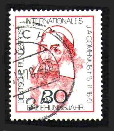 German Used Scott #1050 Catalog Value $.30