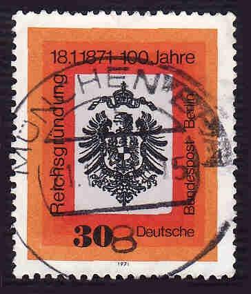 German Used Scott #1052 Catalog Value $.30