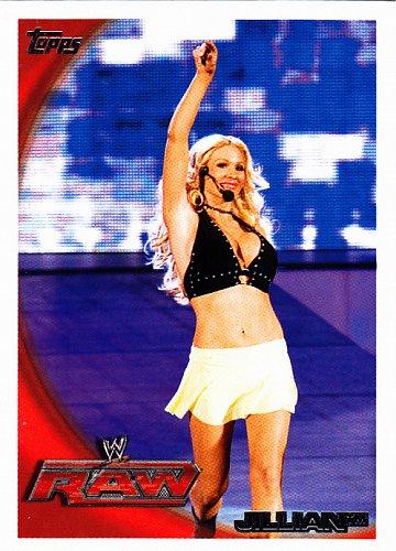 Jillian #38 - WWE 2010 Topps Wrestling Sexy Trading Card