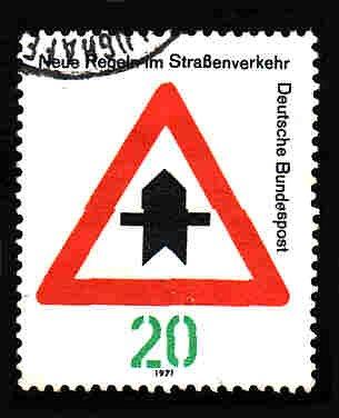 German Used Scott #1056 Catalog Value $.25
