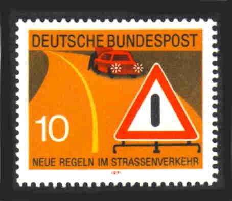 German MNH Scott #1060 Catalog Value $.30
