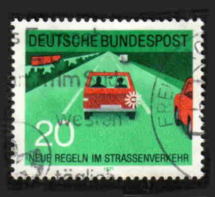 German Used Scott #1061 Catalog Value $.25