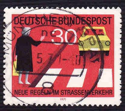 German Used Scott #1062 Catalog Value $.25