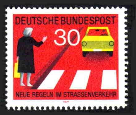 German MNH Scott #1062 Catalog Value $.70