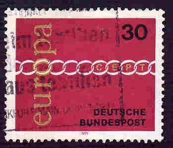 German Used Scott #1065 Catalog Value $.25