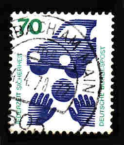 German Used Scott #1082 Catalog Value $.30