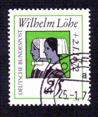 German Used Scott #1087 Catalog Value $.30