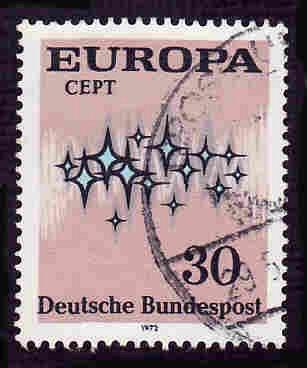 German Used Scott #1090 Catalog Value $.25