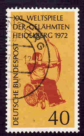 German Used Scott #1092 Catalog Value $.30