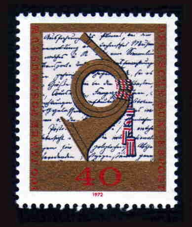 German MNH Scott #1094 Catalog Value $.80