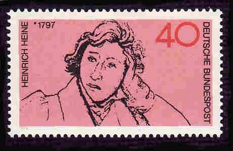 German MNH Scott #10987 Catalog Value $.90