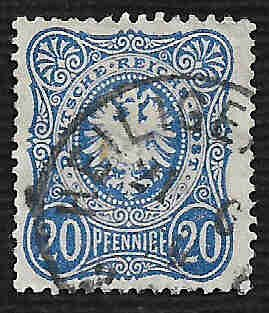 German Used Scott #32 Catalog Value $1.90