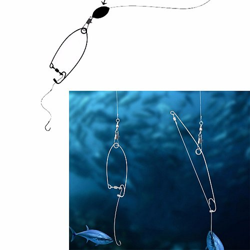Automatic fishing hook at top speed god lazy person all the waters of the fish hook