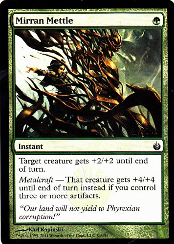 Mirran Mettle - Green - Instant - Magic the Gathering Trading Card