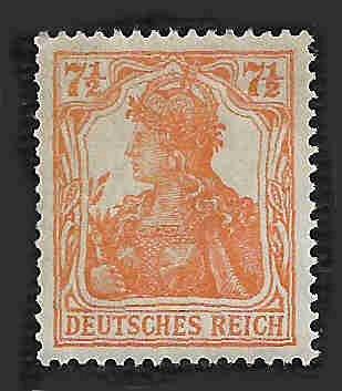 German MNH Scott #98f Catalog Value $13.70