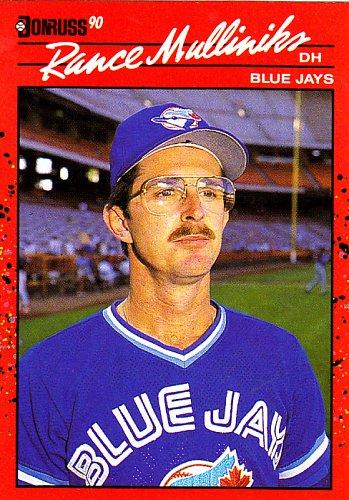 Rance Mulliniks #607 - Blue Jays 1990 Donruss Baseball Trading Card