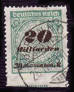 German Used Scott #308 Catalog Value $11.50