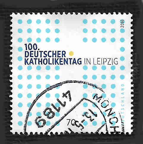 German Used Scott #2916 Catalog Value $.80