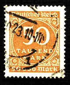 German Used Scott #239 Catalog Value $1.50