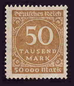German MNH Scott #239 Catalog Value $.38