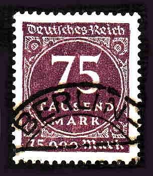 German Used Scott #240 Catalog Value $10.50