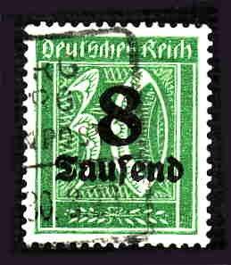German Used Scott #241 Catalog Value $1.50