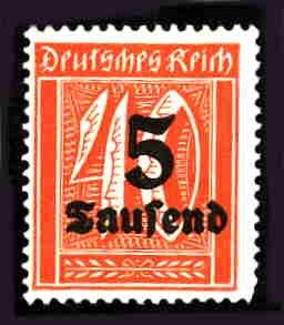 German MNH Scott #242 Catalog Value $.40