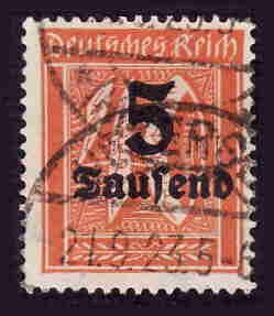 German Used Scott #242 Catalog Value $1.60