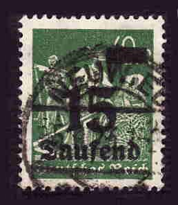 German Used Scott #243 Catalog Value $1.90