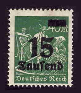 German MNH Scott #243 Catalog Value $.40