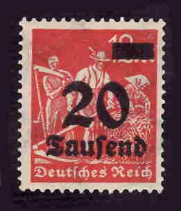 German MNH Scott #244 Catalog Value $.40