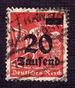 German Used Scott #244 Catalog Value $1.50