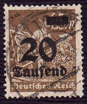 German Used Scott #245 Catalog Value $2.25