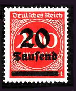 German MNH Scott #246 Catalog Value $.38
