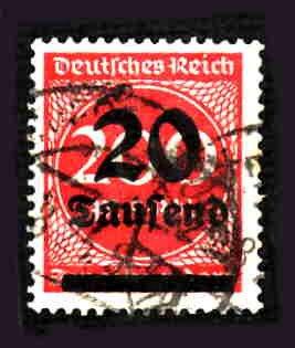 German Used Scott #246 Catalog Value $2.25