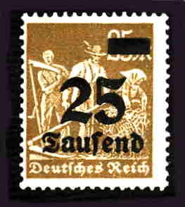 German MNH Scott #247 Catalog Value $.38