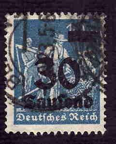 German Used Scott #248 Catalog Value $1.50