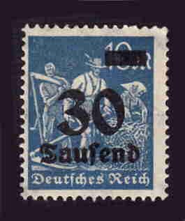 German MNH Scott #248 Catalog Value $.38