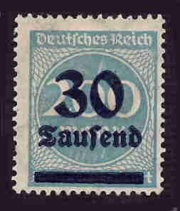 German MNH Scott #249 Catalog Value $.40
