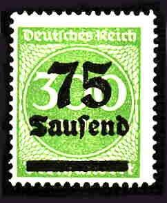 German MNH Scott #250 Catalog Value $.40