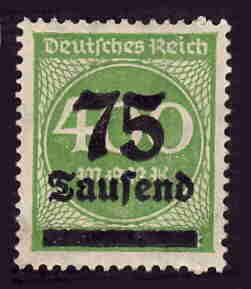 German MNH Scott #251 Catalog Value $.40