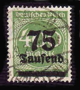 German Used Scott #251 Catalog Value $1.50
